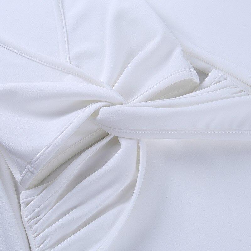long sleeve white dress09