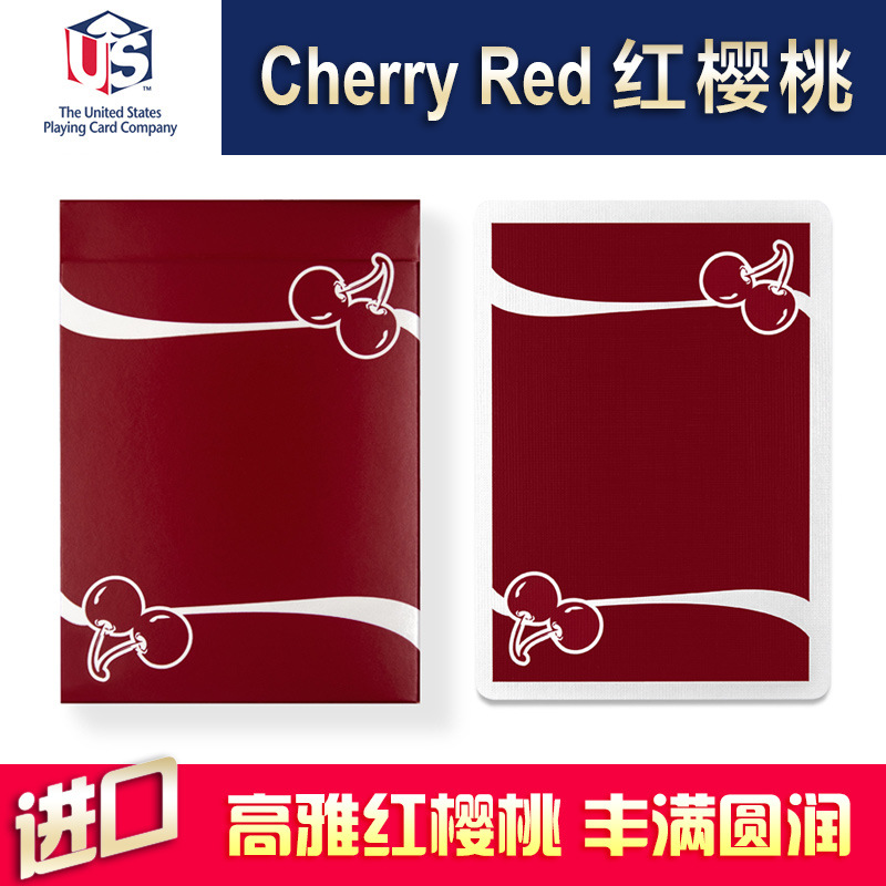 hui-qi-font-b-poker-b-font-cherry-casino-reno-red-cherry-red-import-collection-playing-cards