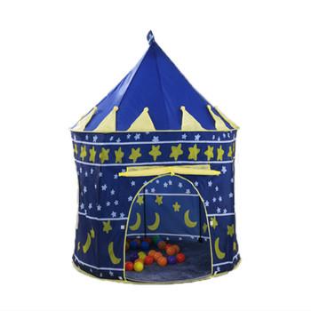 Przenośny zagraj w namiot dla dzieci dzieci kryty odkryty piłka oceaniczna basen składane zabawki Cubby zamek Enfant Room prezenty do domu na domek dla dzieci tanie i dobre opinie NoEnName_Null Poliester 6 lat Składany