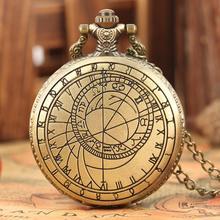 цены Retro Doctor Who Tardis Pocket Watch for Men Geometry Pattern Case Clock Necklace Slim Chain Pendant for Male reloj de bolsillo