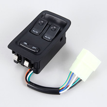 FD1466350C Master Power Window Switch FD14-66-350C for 1993-2002 Mazda RX-7 RX7 Front Left or Right Driver