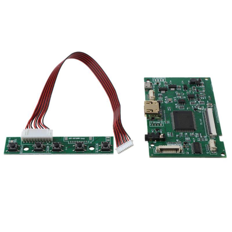 1Set AT070TN92 Driver Board Micro USB5V 50 Pins Module for AT070TN90 AT070TN93|Circuits| |  - title=