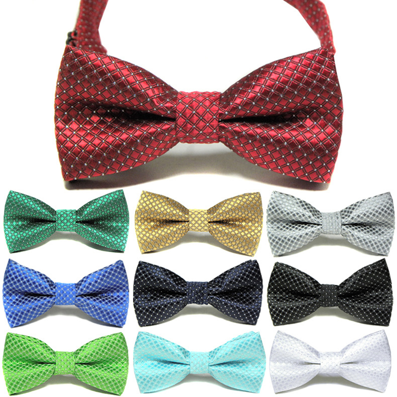 Children Formal Cotton Bow Tie Kid Classical Plaid Bowties Colorful Butterfly Wedding Party Bowtie Tuxedo Ties Accessories