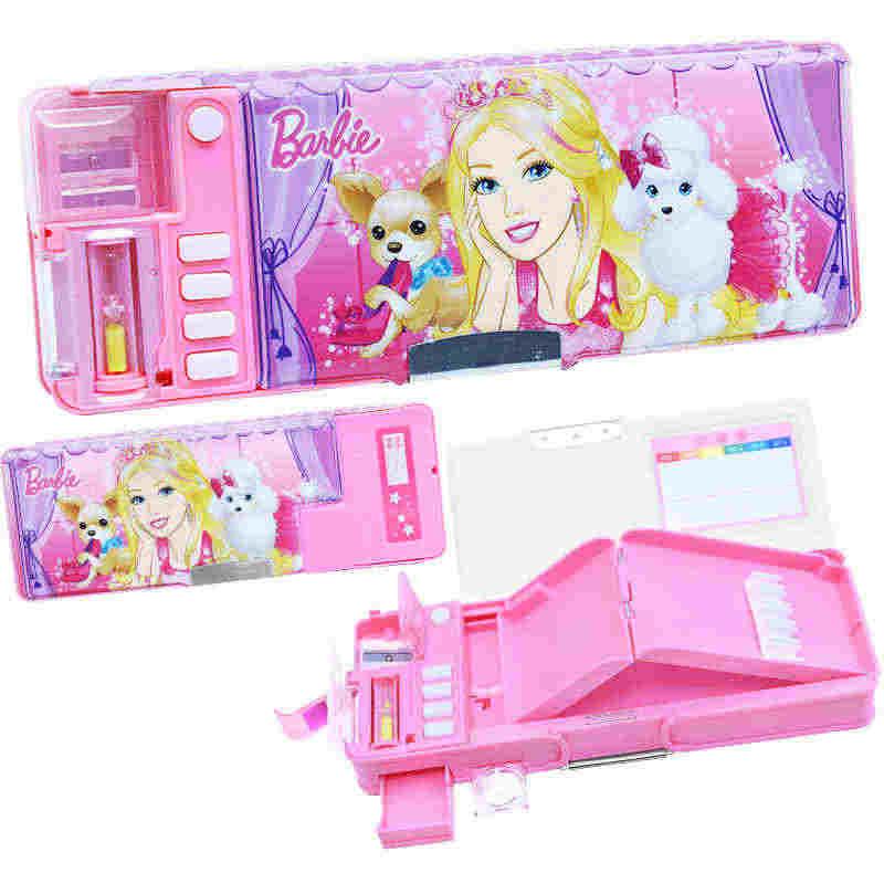 Caja de lápices multifunción encantadora Princesa para niñas kawaii bolsa de lápices niños niñas escolar papelaria chancery etui