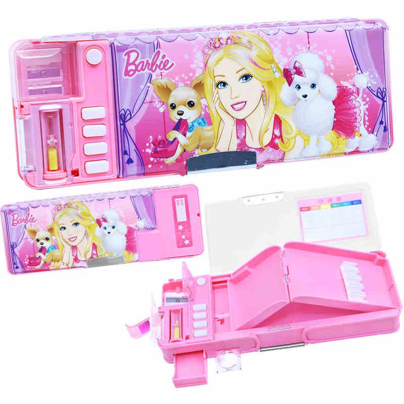 Venda quente multifuncional linda princesa lápis caso para meninas kawaii saco de lápis crianças menina escolar papelaria chancery etui
