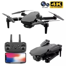 2021 nowy S70 Drone zawód 4K HD podwójny aparat helikopter dron WiFi FPV 1080P transmisja w czasie rzeczywistym zdalnie sterowany Quadcopter dron do zabawy tanie tanio CEVENNESFE CN (pochodzenie) 100m 2K QHD 4K UHD Mode2 4 kanały 12 + y Oryginalne pudełko na baterie Instrukcja obsługi