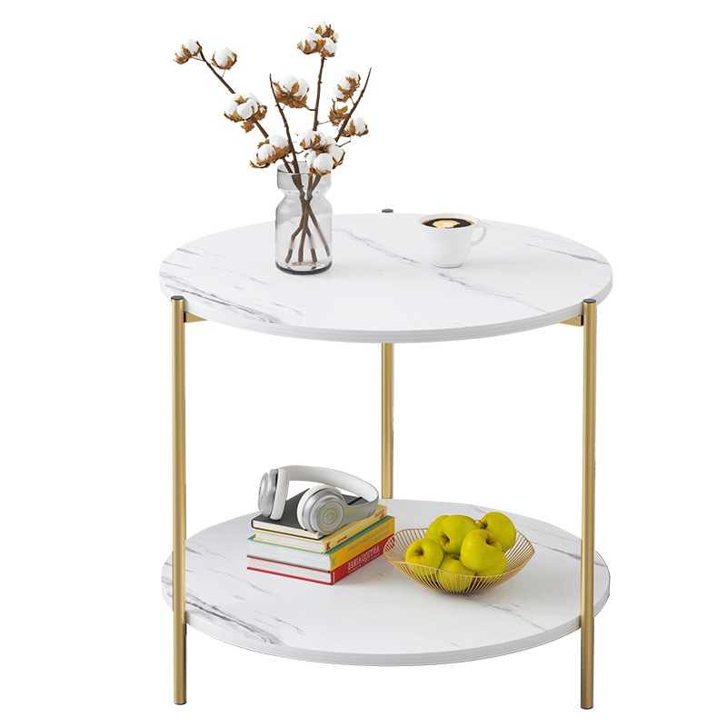 Round Table Northern Europe Simple Side Cabinet Simple Household Side Table Square Table Sofa Side Table Bedroom Bedside