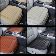 Universal seat cover PU leather car front row universal four seasons pad