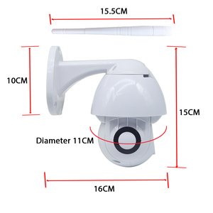 Image 4 - 2MP ptz屋外無線lanカメラ防水cctv ip 1080 1080p赤外線フルカラーナイトビジョンモーション検出ホームセキュリティドームカメラ