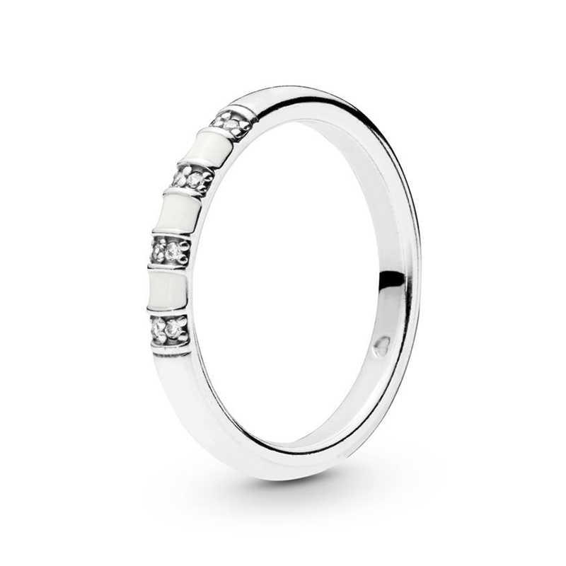 Boosbiy ใหม่แปลกใหม่หิน & Stripes แหวนทองสีแหวนคริสตัลสำหรับงานแต่งงานของขวัญเครื่องประดับ Dropshipping