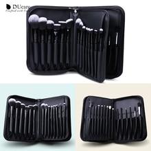 Ducare cosméticos saco de maquiagem caso de escova de viagem bolsa de maquiagem profissional beleza recipiente de armazenamento grande cosméticos organizerdust prova