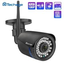 H.265 1080p wifi câmera ip 2mp áudio em dois sentidos sem fio de vigilância segurança vídeo ao ar livre indoor visão noturna ir p2p onvif ipc