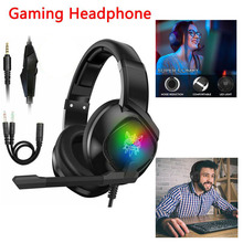 3.5mm Professional Gaming Headphones for PS4 for NS PC for Xbox one Headset with Microphone Noise Reduction Stereo Sound