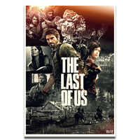 The last of Us 2 Game Silk Poster Wall Art Print Painting 12x18 16x24 inch Decoration Pictures Wallpaper Living Room Decor