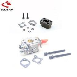 ROFUN 997 Carburetor Assembly for Zenoah CY 26cc 29cc 30.5cc 32cc 36cc 2 Stroke Engin for 1/5 HPI ROVAN KM BAJA Gas RC