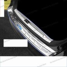 цена на Lsrtw2017 Stainless Steel Car Trunk Threshold Board for Geely Borui Emgrand Gt 2017 2018