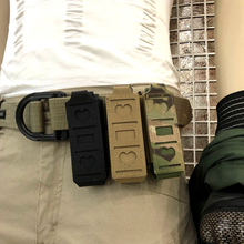 Tactical Molle Single Pouch Magazin Pistol Mag Waist Belt Multi-tool Hunting