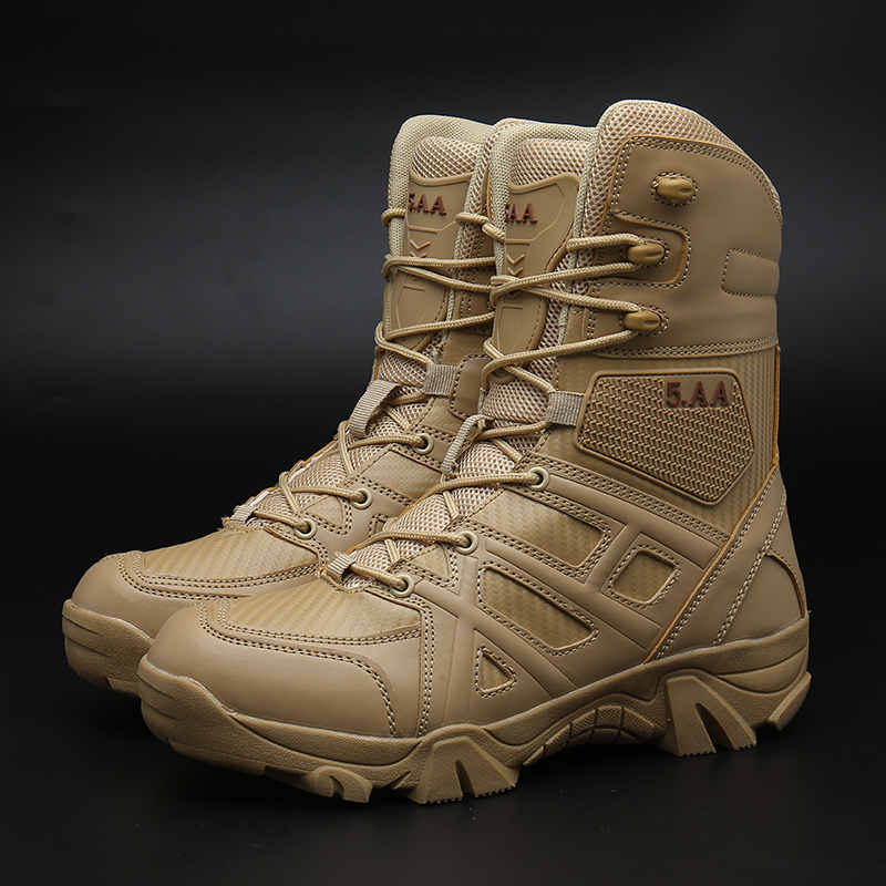 Brand Outdoor Men Hiking Shoes Army Combat Boots Trekking  Shoes Military Tactical Boots Waterproof Mountain Climbing Sneakers