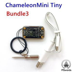 Image 3 - Piswords עיצוב מחדש ChameleonMini REV E G ChameleonTiny צדדי כרטיסים חכמים ללא מגע אמולטור תואם כדי NFC זיקית מיני