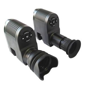 Image 3 - Sıcak yeni teleskop gece görüş açık avcılık optik Sight dürbün gece görüş LCD ve IR el feneri pil