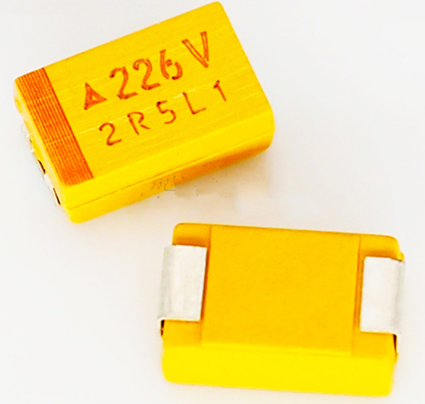 10pcs/lot Chip Tantalum Capacitor 35V 22UF C Type 6032 35V 226V Yellow Tantalum Capacitor