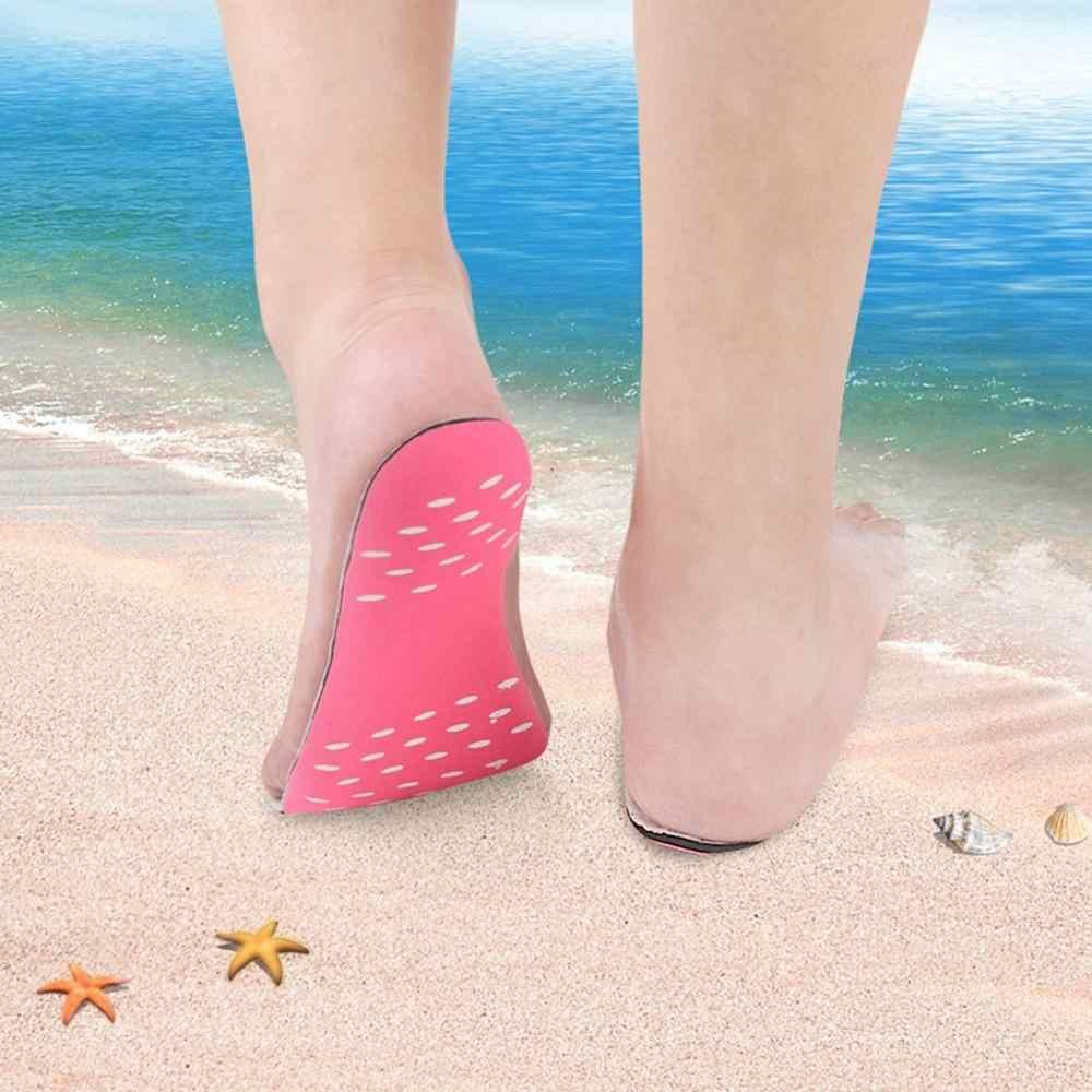 Pantai Bertelanjang Kaki Tak Terlihat Sepatu Sol Panas Isolasi Tahan Air Non Selip Perekat Kaki Perlindungan Pad Stiker