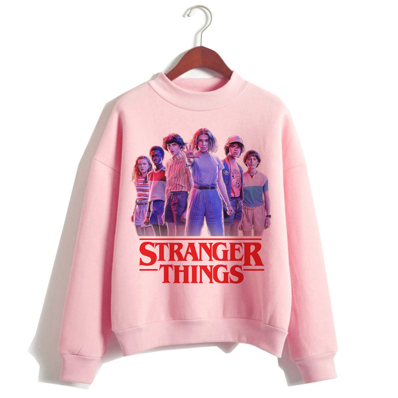 Stranger Things Season 3 Hoodie Women Funny Cartoon Harajuku Stranger Thing Sweatshirt Fashion Female Kawaii Ulzzang Hood