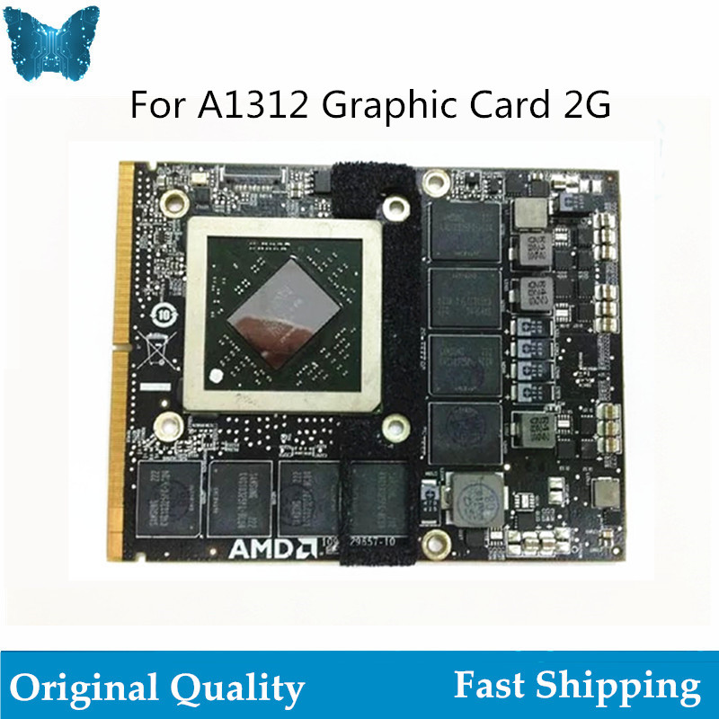 Original Graphic Card for iMac 27 A1312 HD 6970 6970M 1GB 2GB 109-C29657-10 216-0811000 2011 video graphic card image
