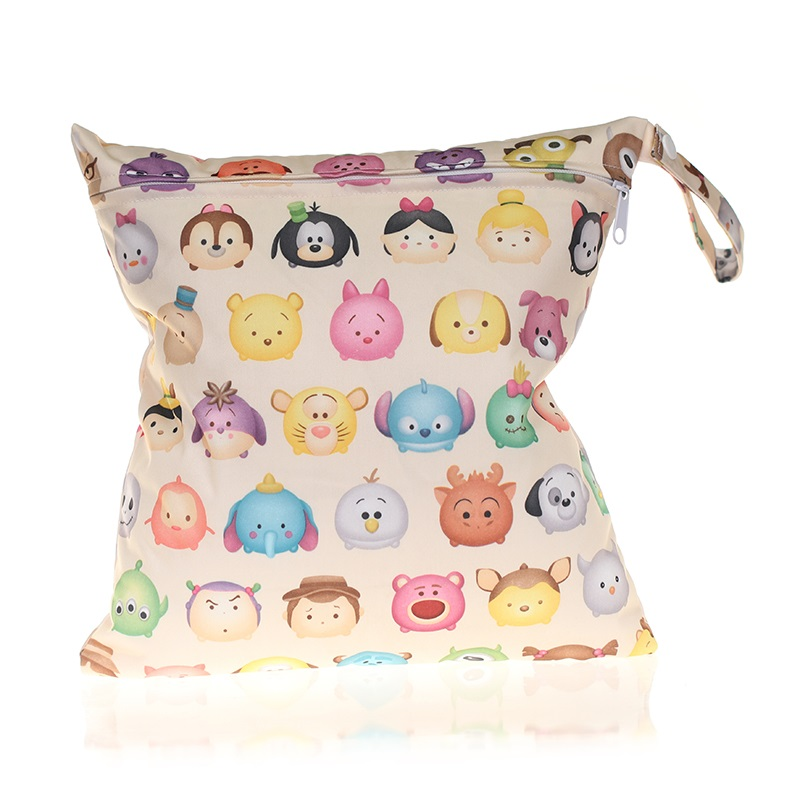 [CHOOEC] 2020 New Wet Bag Washable Reusable Cloth Diaper Small Size:28X30cm Nappies Bags Waterproof Swim Sport Travel Carry Bag