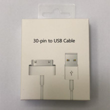 ACCALIA 10PCS/LOT 30 Pin USB Cable For iPhone 4 4s iPad 1 2