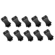 10PCS/LOT Quick Clips for 1.5 inch Belts for Kydex Belt Clip Loop with Screw Fits Applications Tool Part