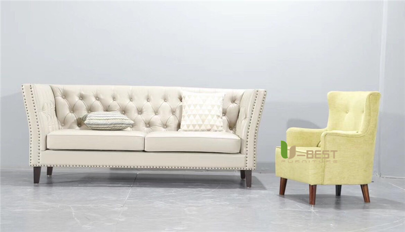 U-BEST high quality model room sofa (9)