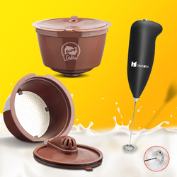 Coffee Capsule For Dolce Gusto Filters Crema Version Cup Refillable Reusable Coffee Dripper Tea Baskets