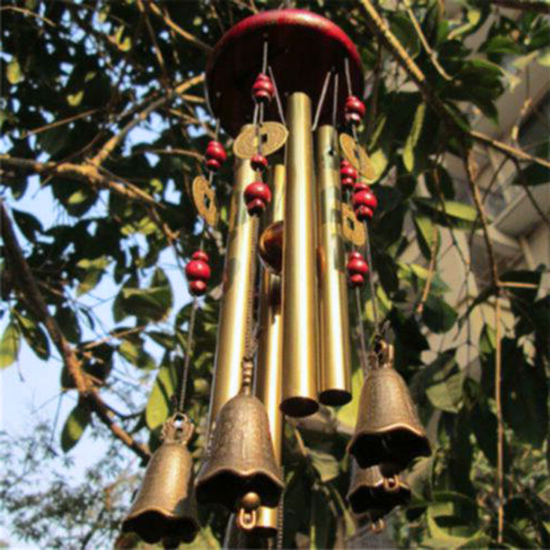 Large Wind Chime Tubes Bells Metal Church Bell Outdoor Garden Home Decor Wind Chimes High Quality