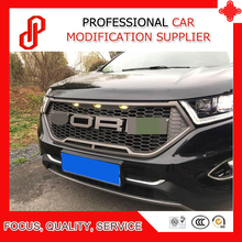 цена на Modificate high qualtiy ABS car front grille racing grills grill for Edge Front grille 2015 2016 2017 2018