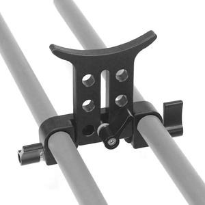 Image 5 - 15MM téléobjectif Support Support Support Support adaptateur pour 5D3 5D2 SLR DSLR caméras Photo Studio plate forme Rail tige suivre le système de mise au point