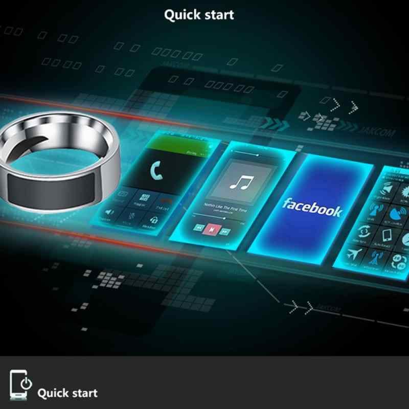 Baru Tahan Air NFC Smart Ring Multifungsi Cerdas Memakai Jari Digital Cincin untuk Ponsel Android Peralatan Cincin