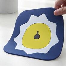 1 шт мультяшный коврик для домашнего стола нескользящий горшка