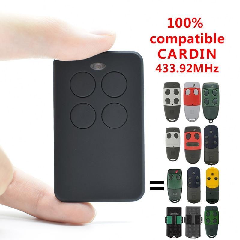 Cardin S449 Gate Garage Door Remote Transmitter 433.92  For Cardin TRQ S449,TXQ S486,TXQ S449 Garage Control