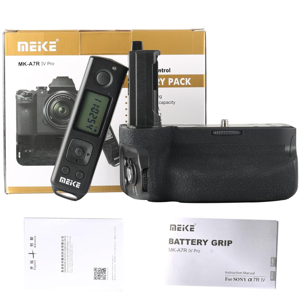 Meike MK-A7R IV Pro Battery Grip with Wireless Remote for Sony ...