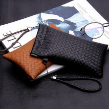 2019 High Quality Fashion Brand black Soft Eyeglasses Light PU Sunglasses Pouch Bag Glasses Case Leather