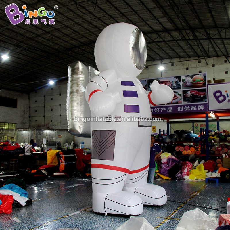 Индивидуальный заказ 13 футов надувные светильники астронавт/светодиодный надувная игрушка астронавт Спорт - 4
