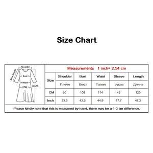 Image 5 - 2020 automne hiver femmes grande taille gris chemise robe Midi à manches longues Patchwork épais chaud à volants élégant robe de soirée Style 3073