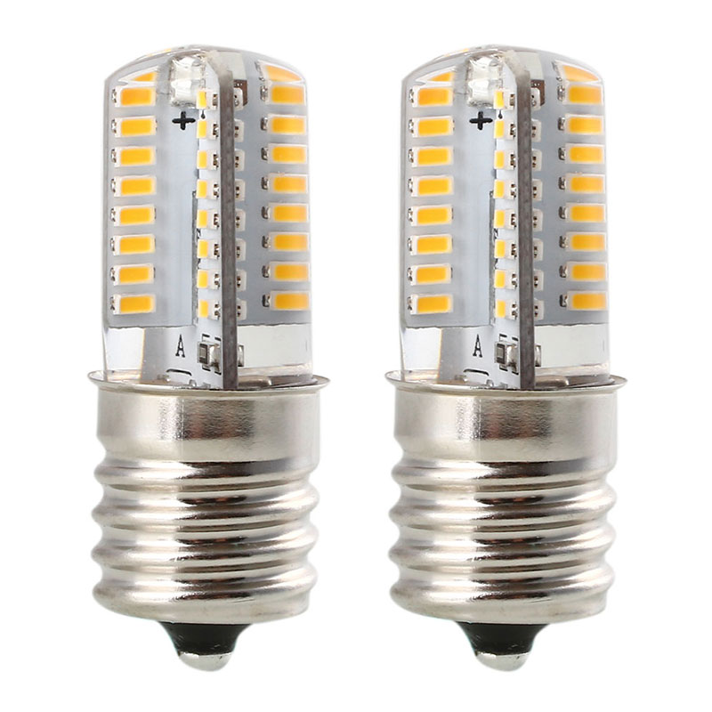 <font><b>E17</b></font> 110/220V 5W Corn SMD <font><b>LED</b></font> Silica Gel <font><b>Bulb</b></font> Lamp Home Bedroom Silicon Light image