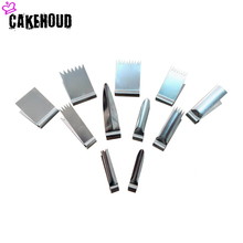 CAKEHOUD Household Baking Tools Stainless Steel Biscuits Silk Flower Molds Pliers DIY Cake Decoration Tools Fancy Dessert Mold