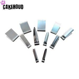 Image 1 - CAKEHOUD أدوات الخبز المنزلية الفولاذ المقاوم للصدأ البسكويت زهرة الحرير قوالب كماشة Cake بها بنفسك أدوات تزيين الكعكة قالب الحلوى يتوهم