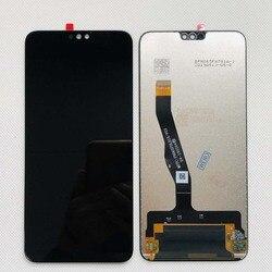 Noir 6.5 pouces Pour Huawei Honor 9X Lite JSN-LX1 JSN-L21 JSN-L22 JSN-L23 L'assemblée de convertisseur analogique-Numérique D'écran Tactile d'affichage d'affichage à cristaux liquides de Remplacement