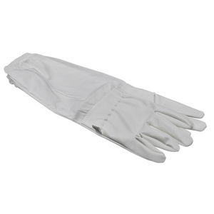 Image 2 - Brand Artificial Leather Protective Beekeeping Glove Bee Keeping Vented Long Sleeves Beekeeping Suitable for Equipment And Tools