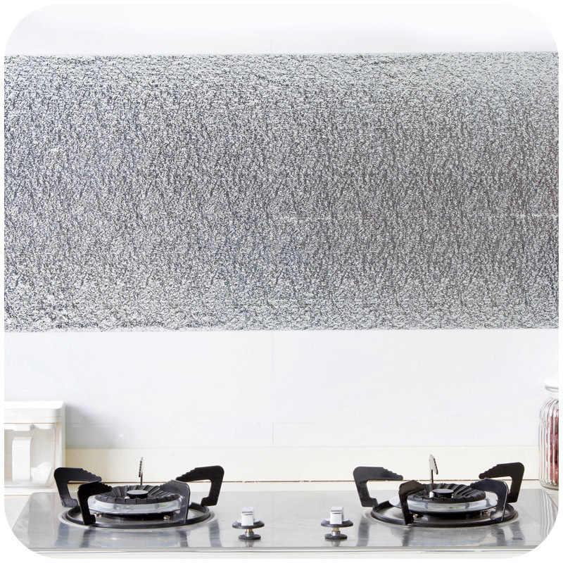 Feuille d'aluminium autocollante, épais, étanche à l'humidité, grand tiroir, pâte résistante à l'huile, autocollants, outils de cuisine