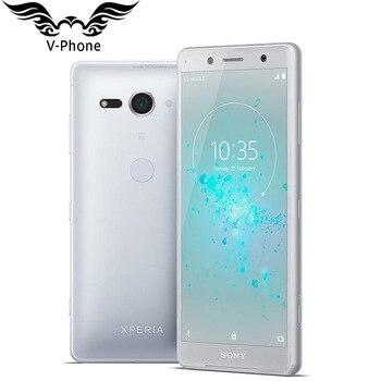 Перейти на Алиэкспресс и купить Новый оригинальный мобильный телефон sony Xperia XZ2 Compact H8314, 4G, Восьмиядерный процессор Snapdragon 845, 5 дюймов, 4 ГБ, 64 ГБ, NFC, Android, глобальный смартфон